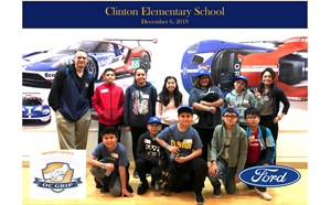 Clinton 6th Graders Visit the Ford Motor Company Design Center - article thumnail image