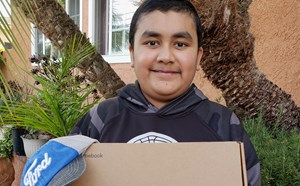 Special thanks to Ford Motor Company, Aiden Avina won the raffle and is now the proud owner of a very awesome Dell chrome book! - article thumnail image
